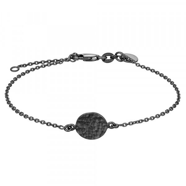 Armbånd - sort sølv
