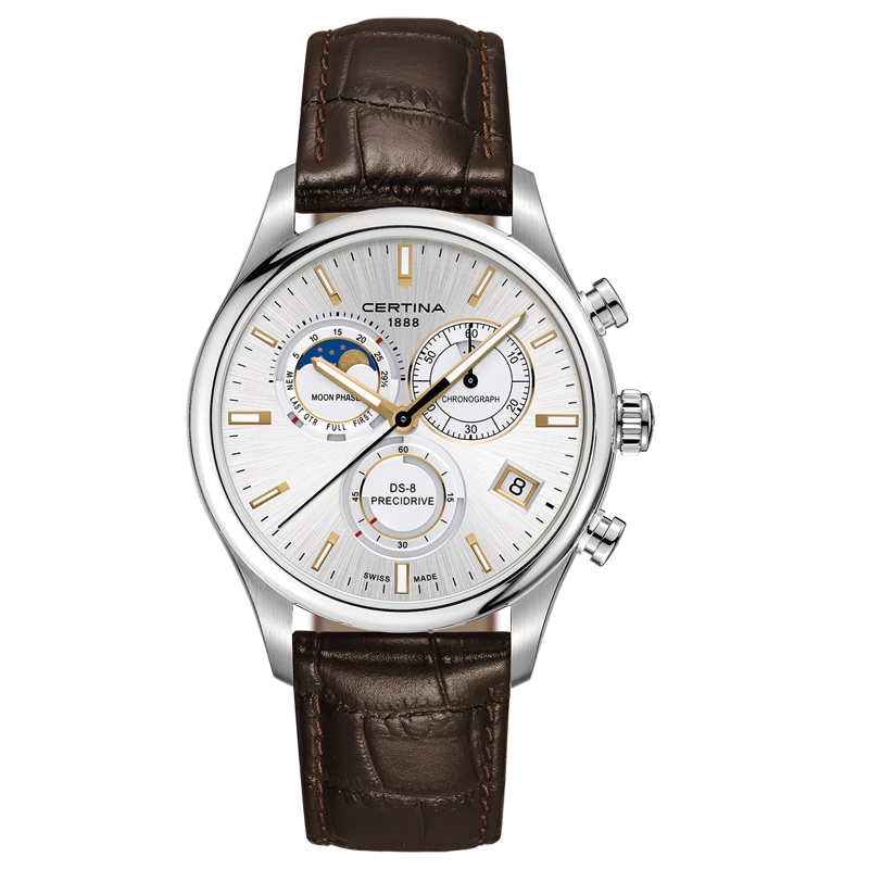 DS 8 chronograph moon phase