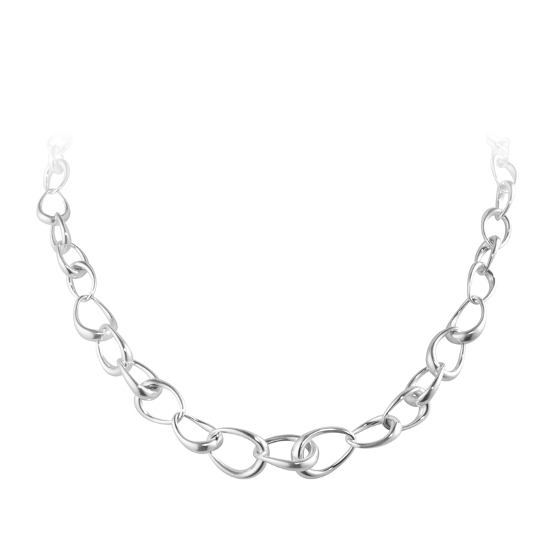 Image of   Georg Jensen Offspring Collier i sølv