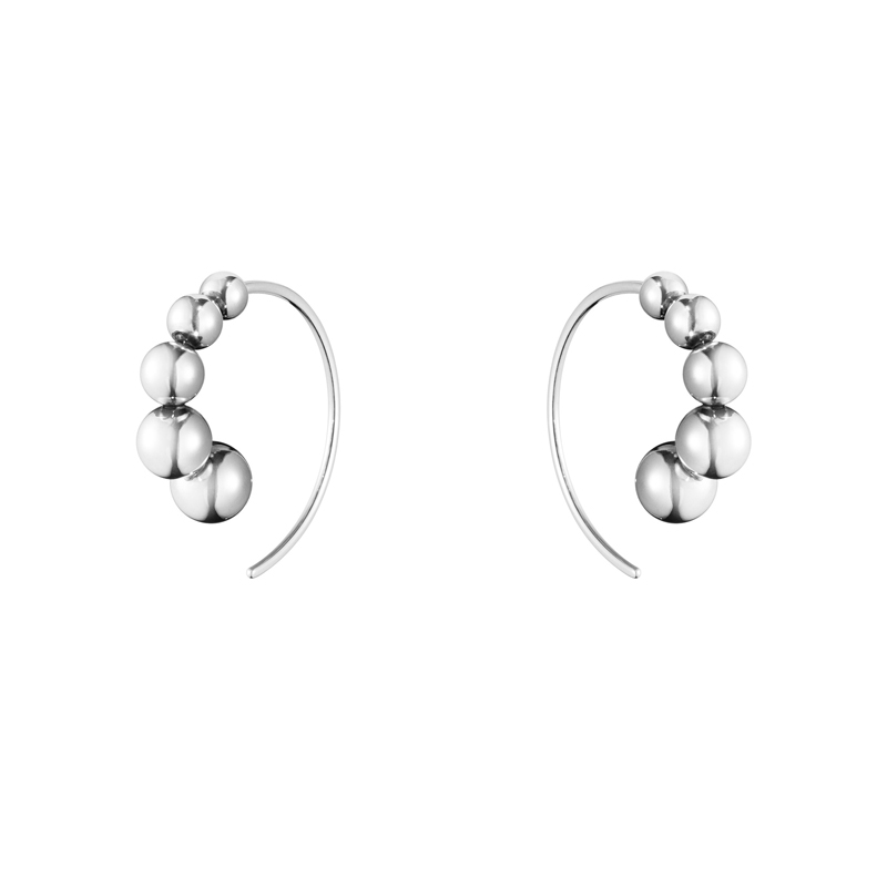 Georg Jensen Moonlight Grapes Ørering 551I i sølv