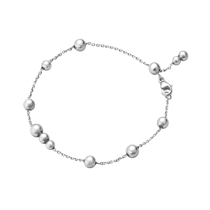 Georg Jensen Moonlight Grapes Armbånd i sølv