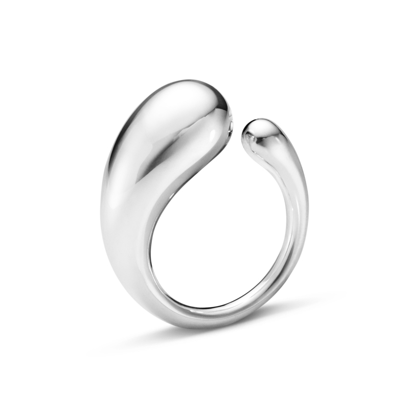 Image of   Georg Jensen Mercy stor ring i sølv