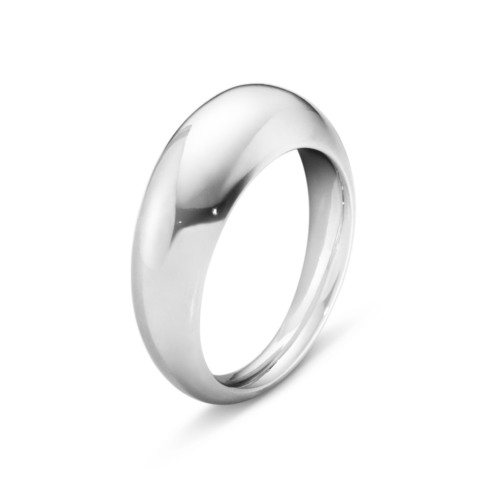Image of   Georg Jensen Curve ring slim, 501A, sølv