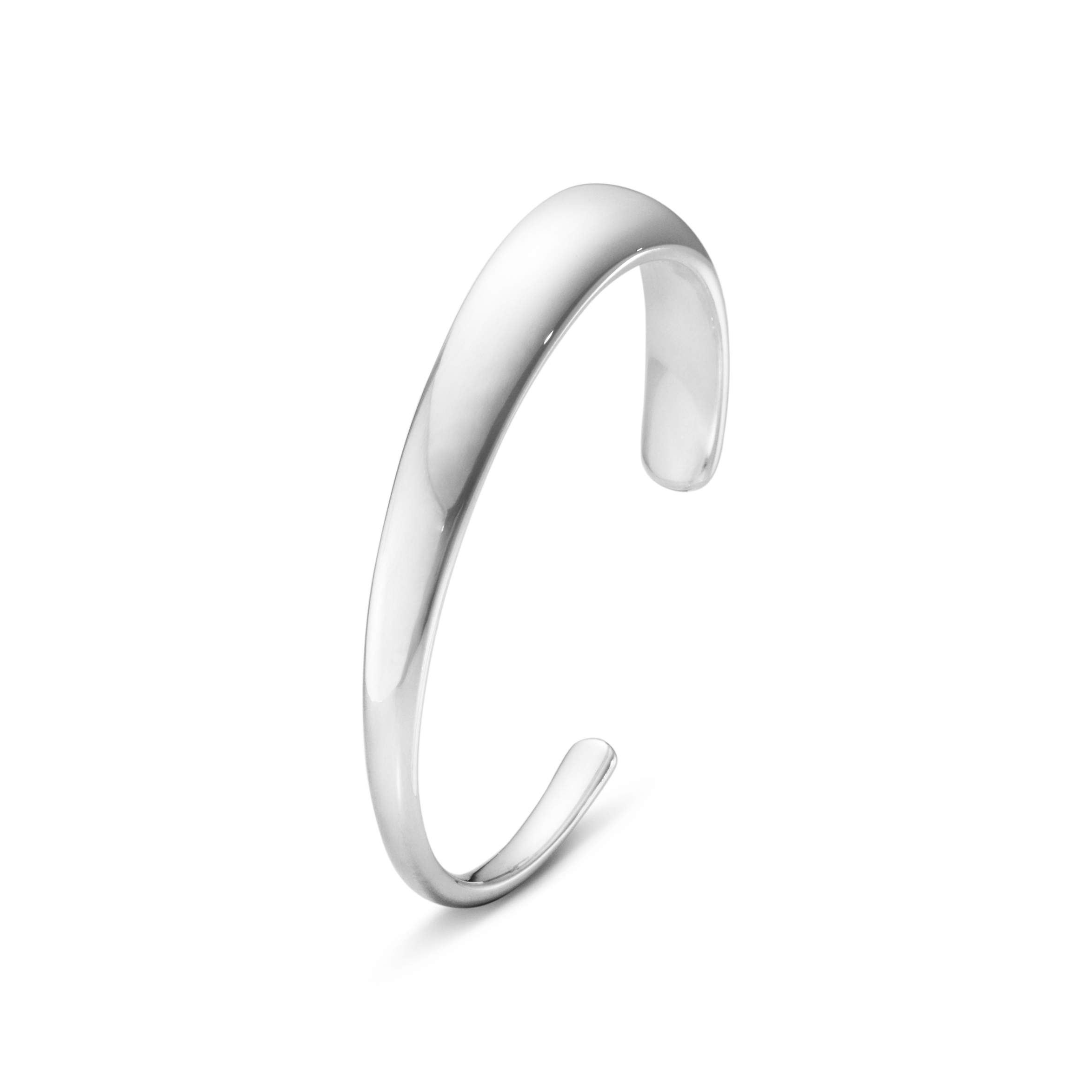 Image of   Georg Jensen Curve Armring , smal 501A, sølv