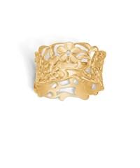Image of   Blossom ring i 14 kt guld med en diamant -mat