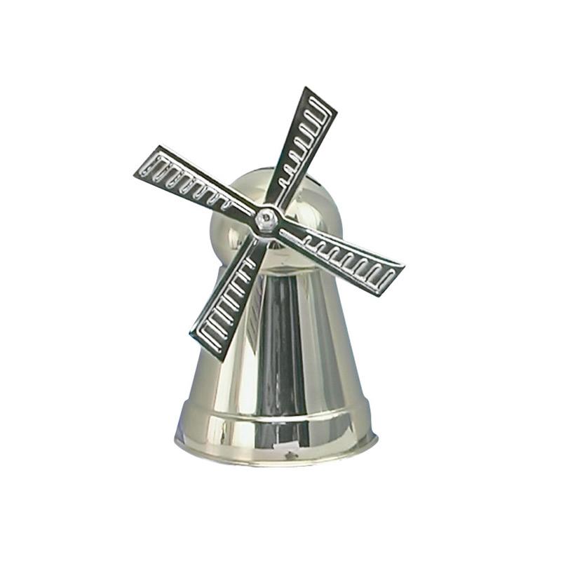 Image of   Sparebøsse Mølle, sølvplet
