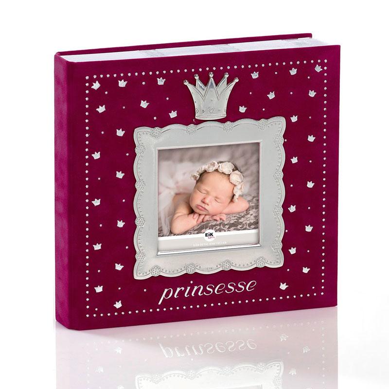 Image of   Fotoalbum prinsesse, rosa