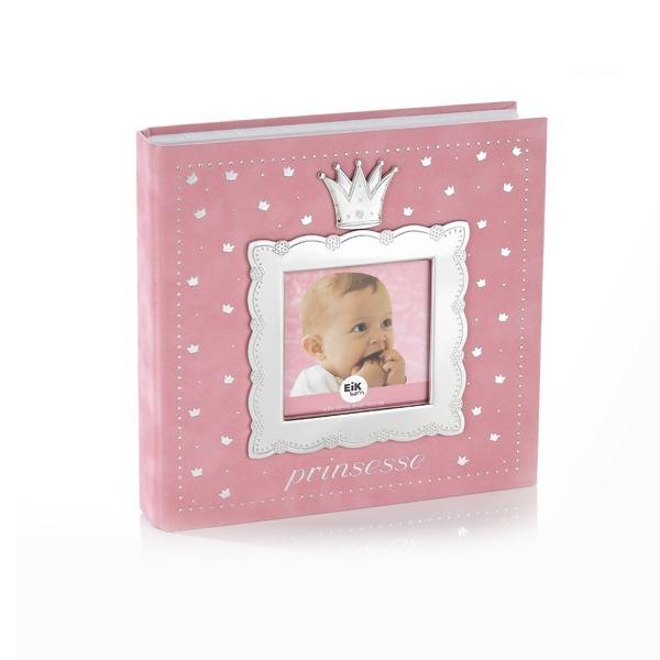 Image of   Fotoalbum prinsesse, lys rosa