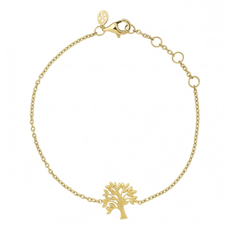 Image of   ByBiehl Tree of Life armbånd i forgyldt