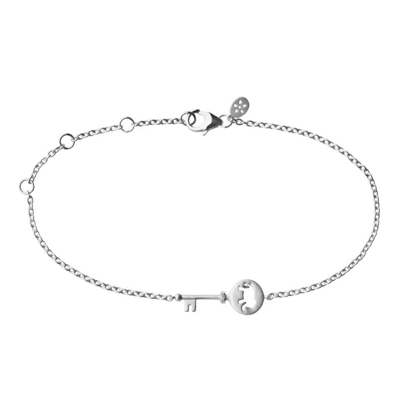 Image of   ByBiehl Unlock Strength Armbånd i sølv