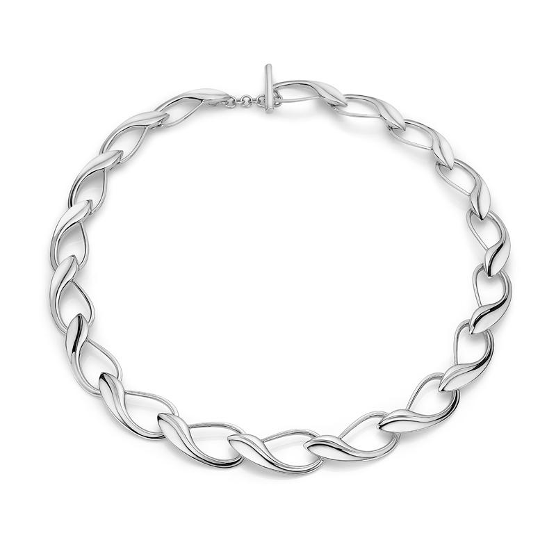 Image of   Mads Z Winelink collier i sølv, 45 cm