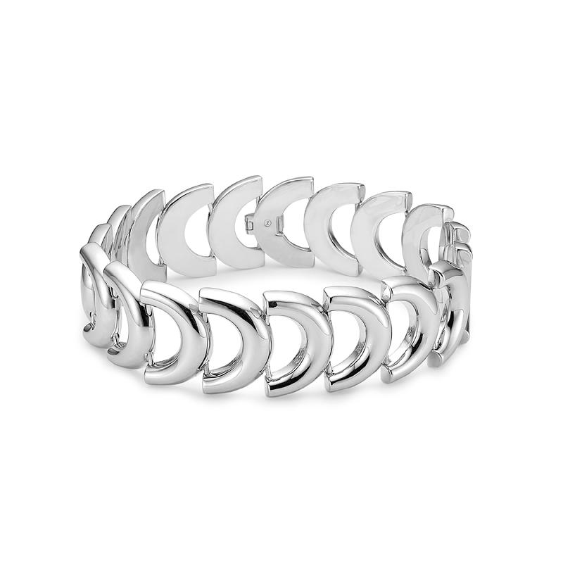 Image of   Mads Z Art Deco sølv armbånd