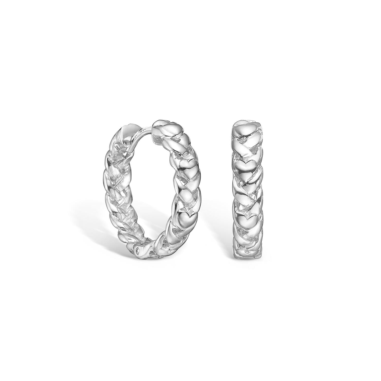 Image of   BLOSSOM øreringe i sølv Ø20