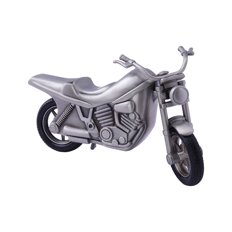 Image of   Sparebøsse fortinnet motorcykel