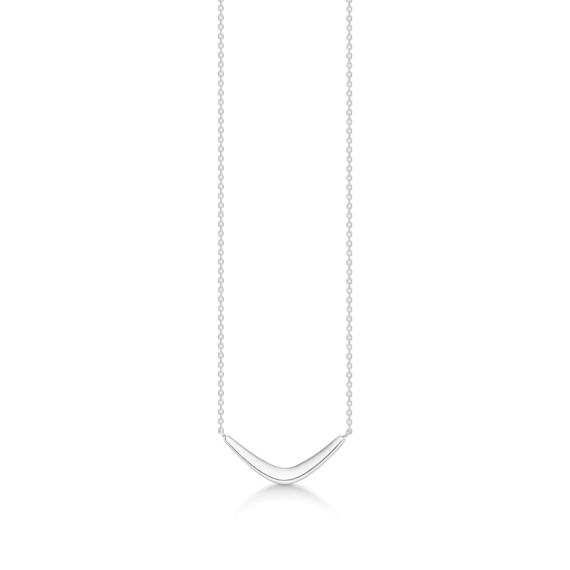 Image of   Mads Z Boomerang halskæde i sølv