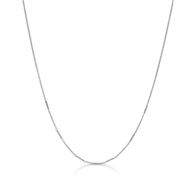 Image of   Mads Z Pins halskæde i sølv