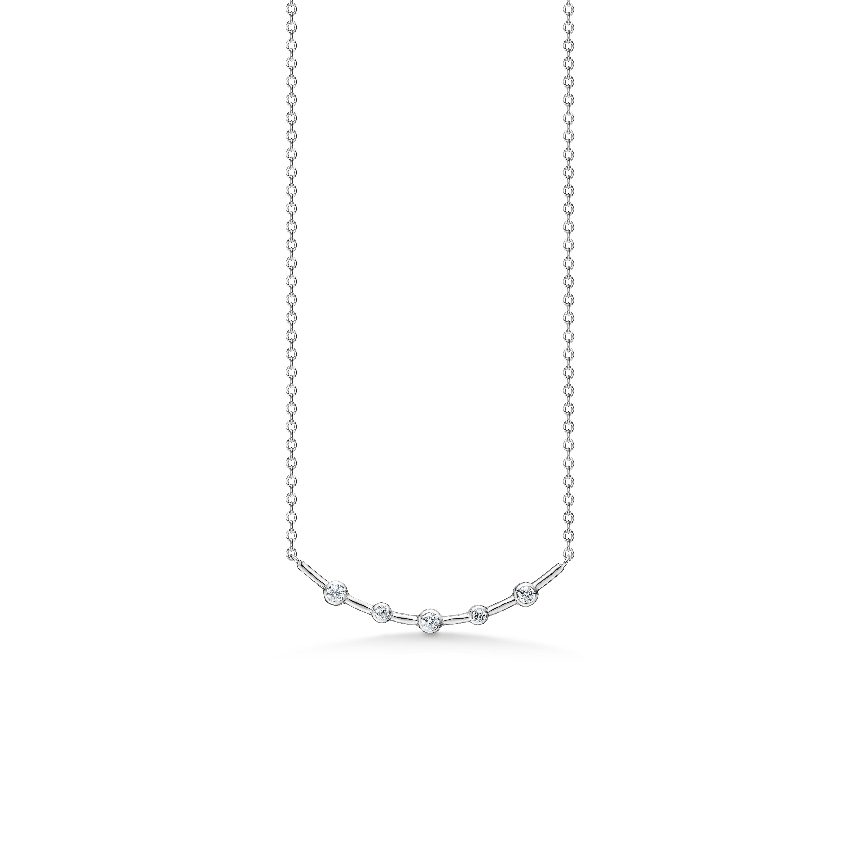 Image of   Mads Z Smile sølv halskæde, 45 cm