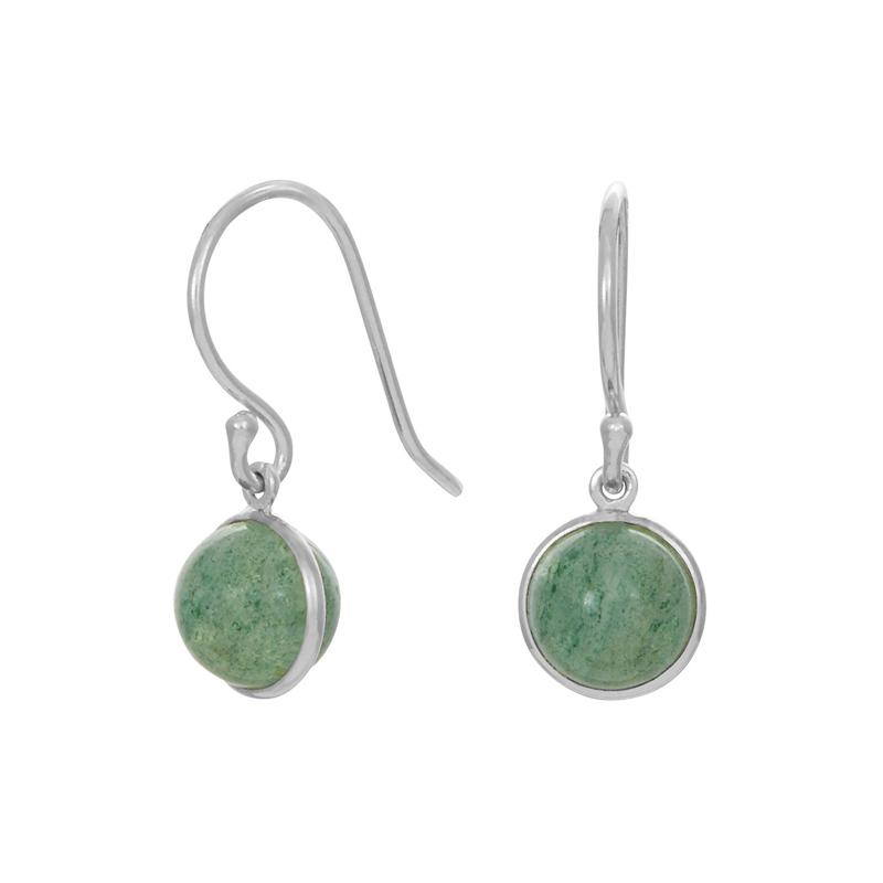 Nordahl Jewellery Sweets øreringe i sølv med aventurin