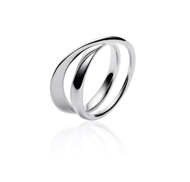 Georg Jensen Möbius ring 369