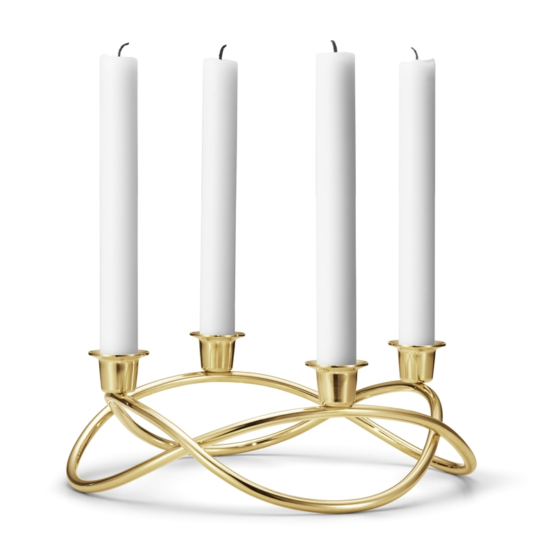 Image of   Georg Jensen Season Adventsstage, 18 kt. forgyldt