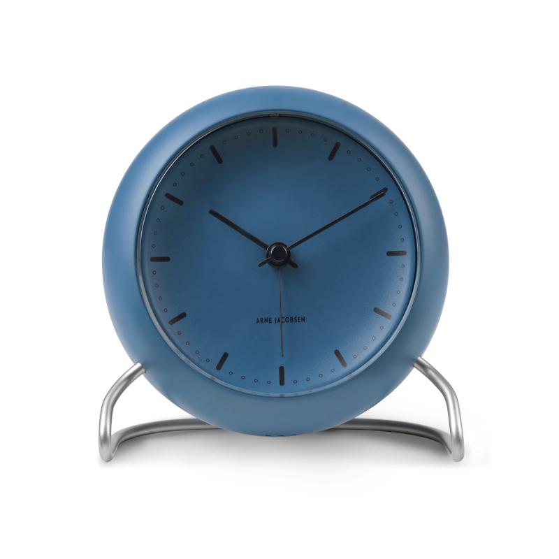 Image of   Arne Jacobsen City Hall Stone Blue bordur med alarm ø 11 cm