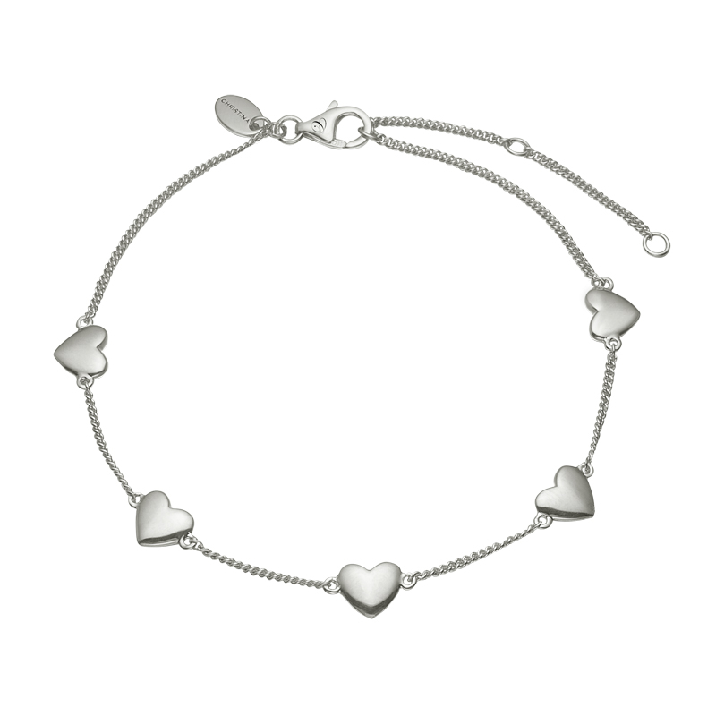 Image of   Christina Jewelry Forever Love armbånd i sølv