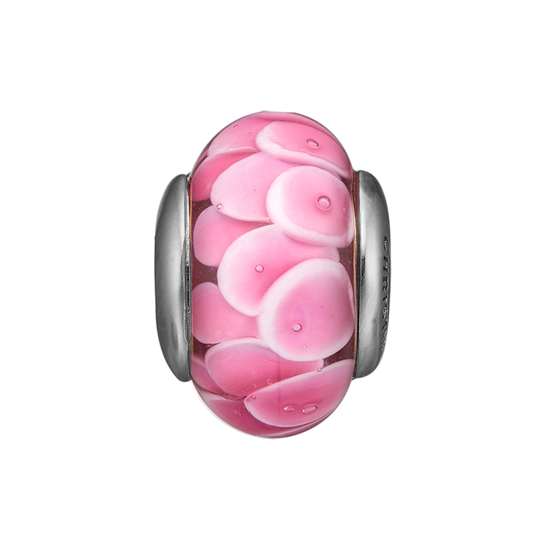 Christina charm til sølv armbånd Flower Globe i sølv