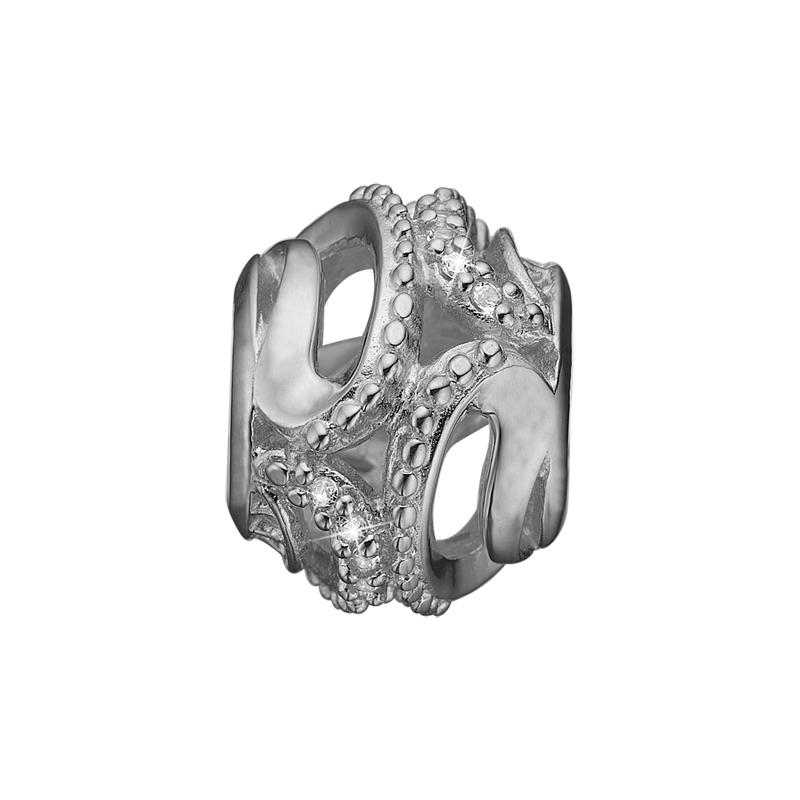 Image of   Christina Charm til sølv armbånd Magic Nature i sølv med 3 topaser