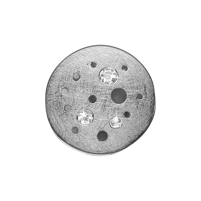 Christina Charm til sølv armbånd The Moon i sølv med 3 topaser