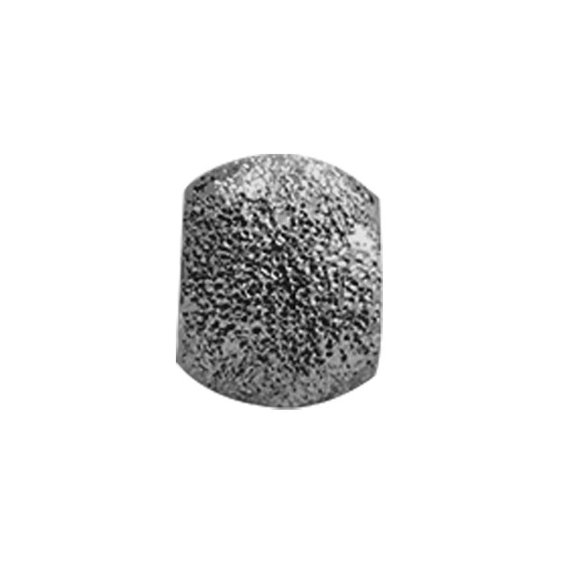 Image of   Christina Charm til læderarmbånd Stardust i sort sølv