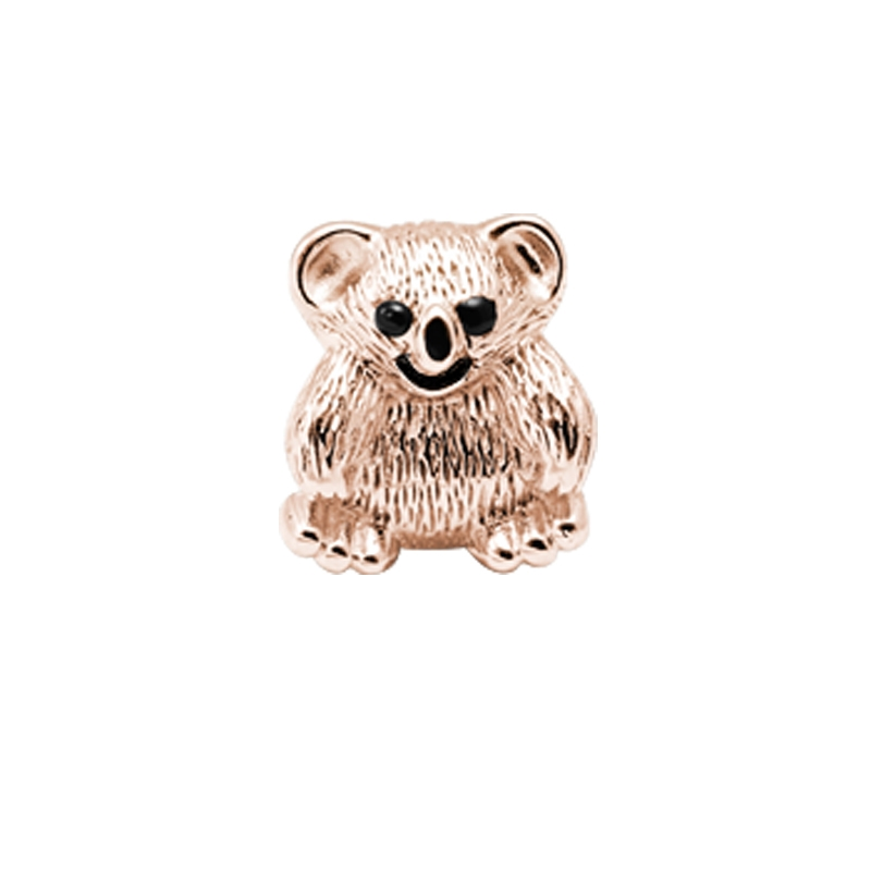 Christina Charm til læderarmbånd Koala Bear i rosa