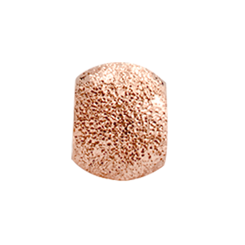 Image of   Christina Charm til læderarmbånd Stardust i rosa forgyldt