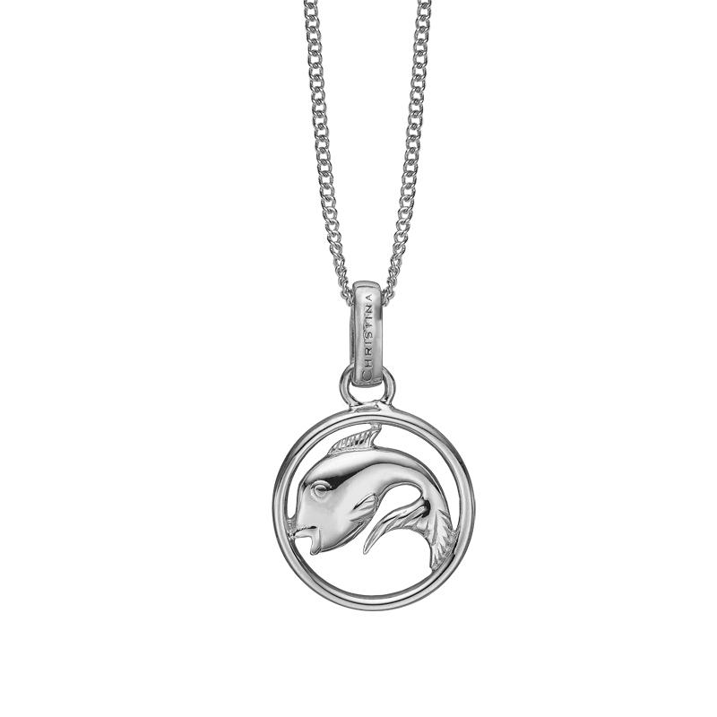 Image of   Christina Jewelry sølv stjernetegn fisken vedhæng