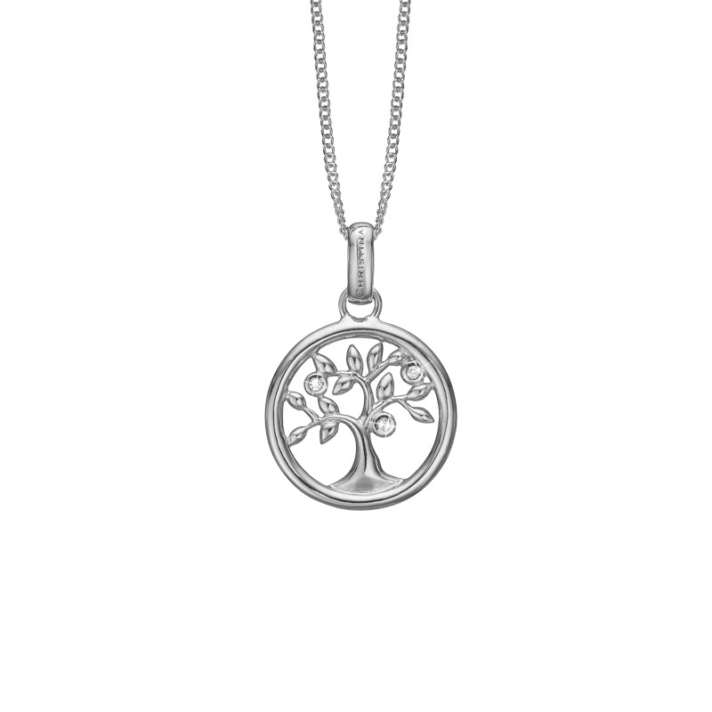 Image of   Christina Jewelry Tree of Life vedhæng i sølv med 3 topaser