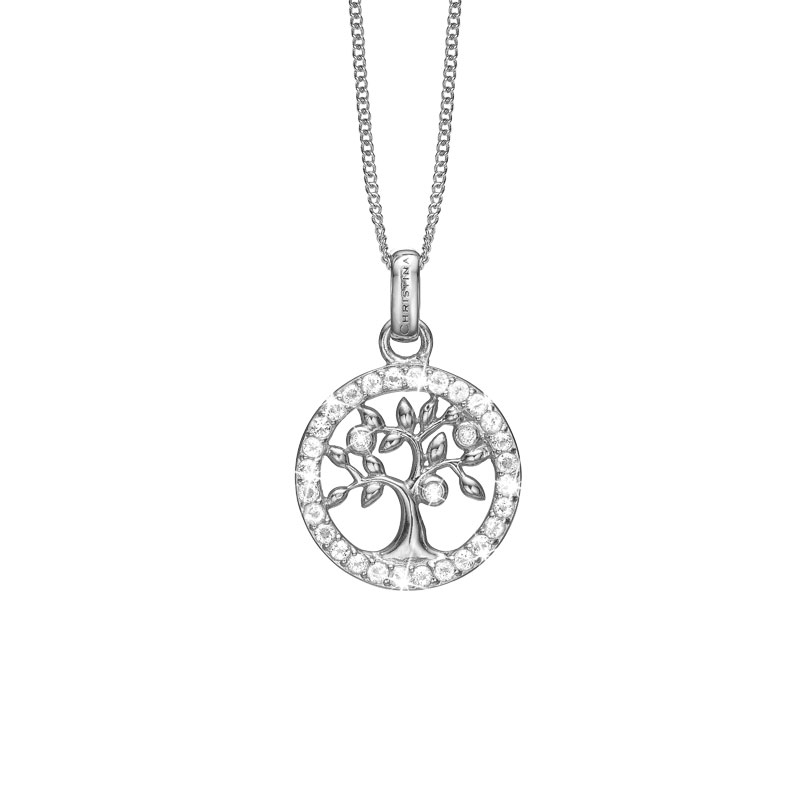 Image of   Christina Jewelry Topaz Tree of Life vedhæng i sølv med 31 topaser