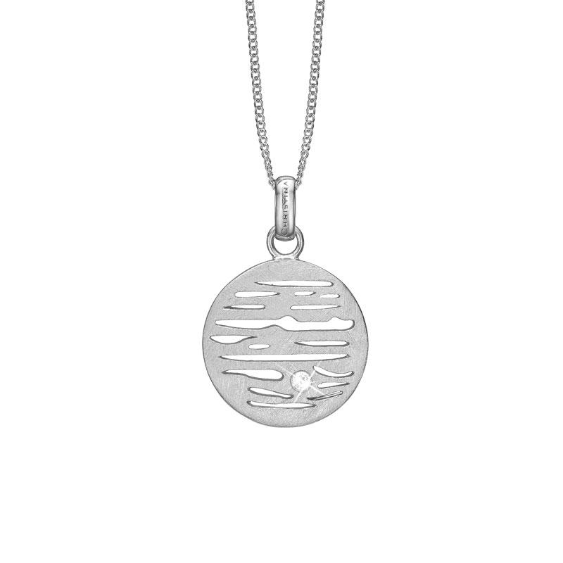 Image of   CHRISTINA vedhæng Jupiter i sølv med 1 topas