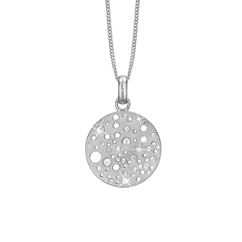 Image of   CHRISTINA vedhæng Sun i sølv med 20 topaser