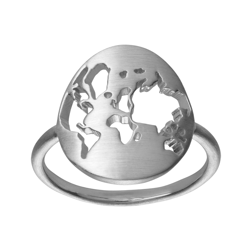 Image of   ByBiehl Beautiful World ring i sølv