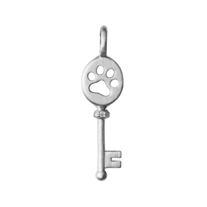 Image of   ByBiehl Unlock Power vedhæng i sølv med cz