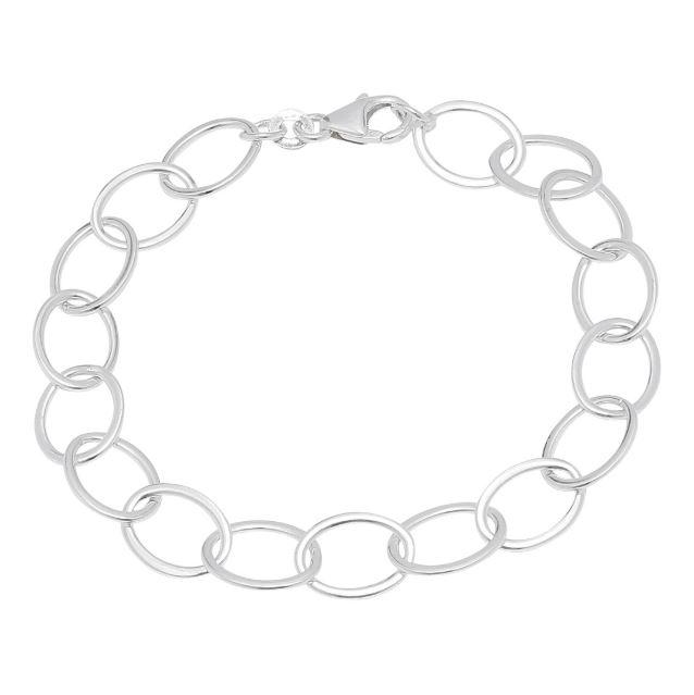 Image of   Nordahl armlænke i sølv
