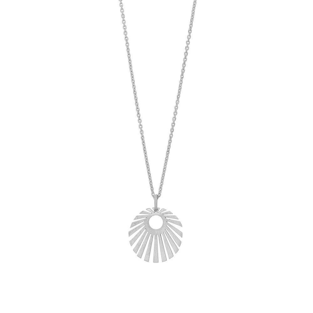 Nordahl Sun halskæde med vedhæng i sølv