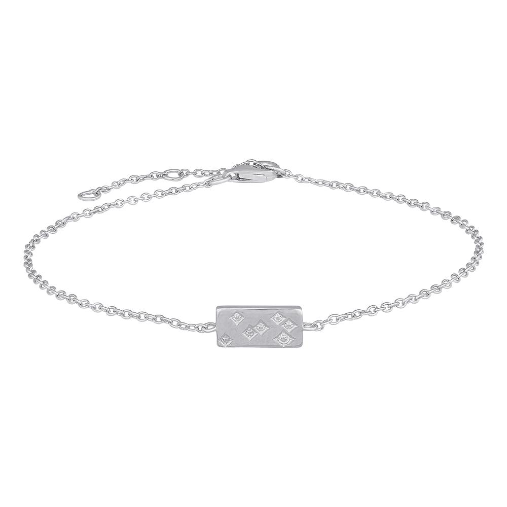 Image of   Joanli FelinaNor sølv armbånd med cubic zirkoner