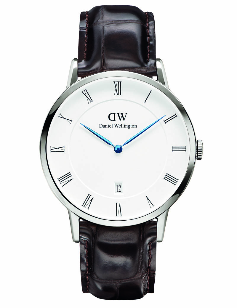 Image of   DANIEL WELLINGTON DAPPER YORK UR - STÅL 38 MM