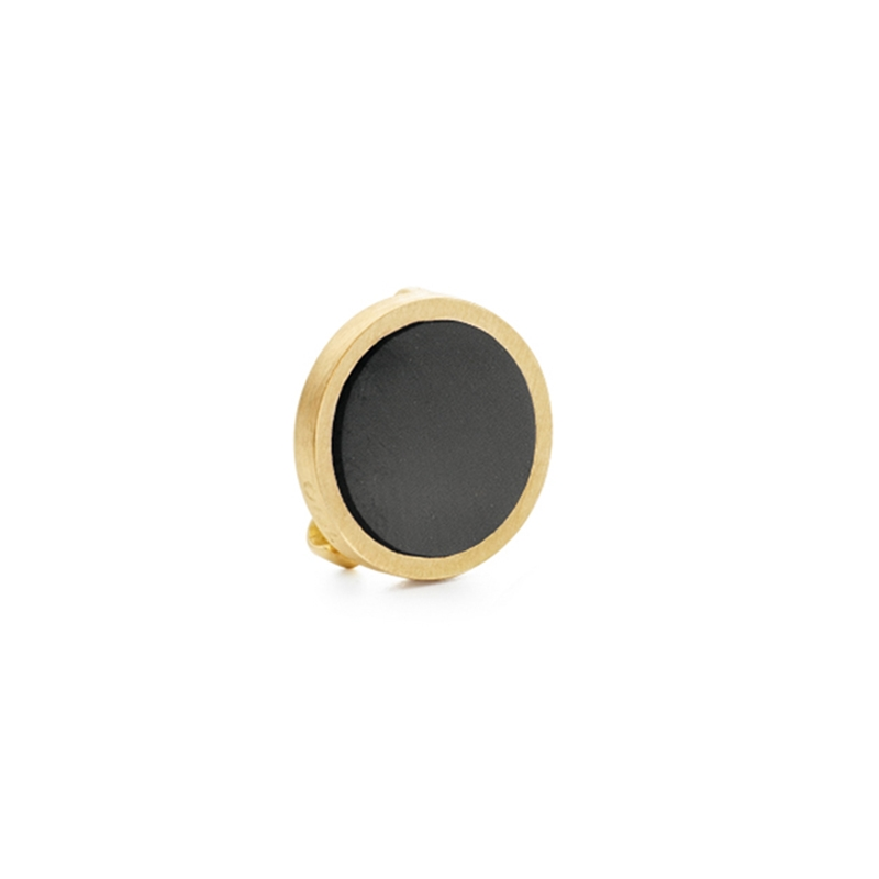 Ole Lynggaard Charm Spot On 18 karat rødguld sort onyx plade