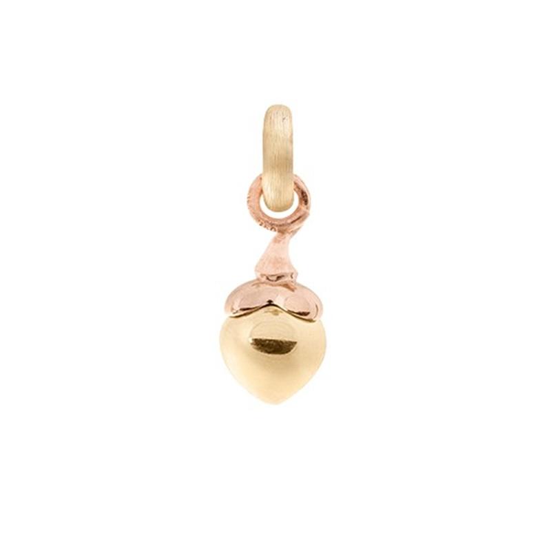 Image of   Ole Lynggaard Charm lille Sweet Drops i blank rød- og rosaguld