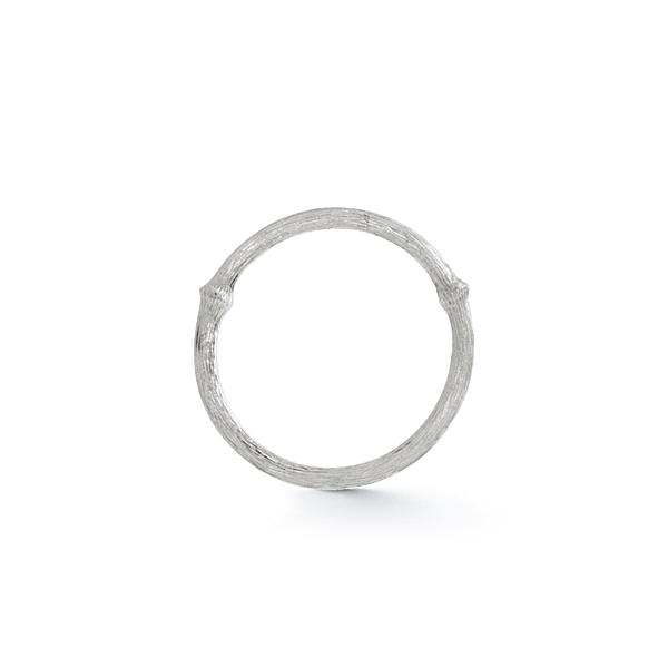Ole Lynggaard Nature ring nr. 1 - 18 karat hvidguld rhodineret