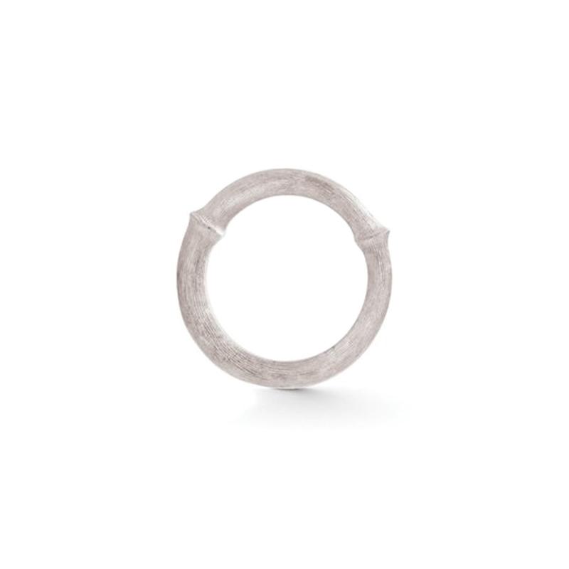 Image of   Ole Lynggaard Nature ring nr. 4 - 18 karat hvidguld rhodineret