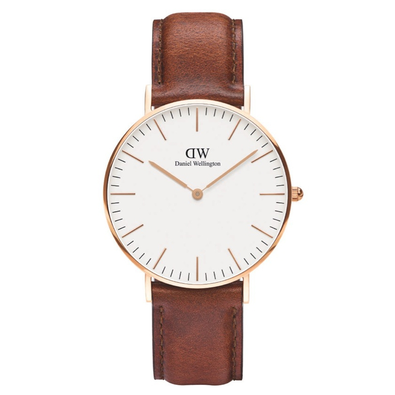 Image of   Daniel Wellington Classic St. Mawes ur rosa 36 mm