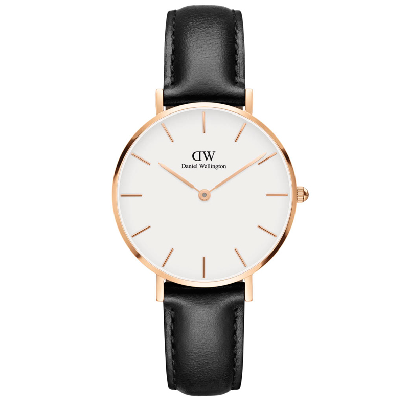 Image of   Daniel Wellington Classic Petite Sheffield dameur rosa - 32 mm