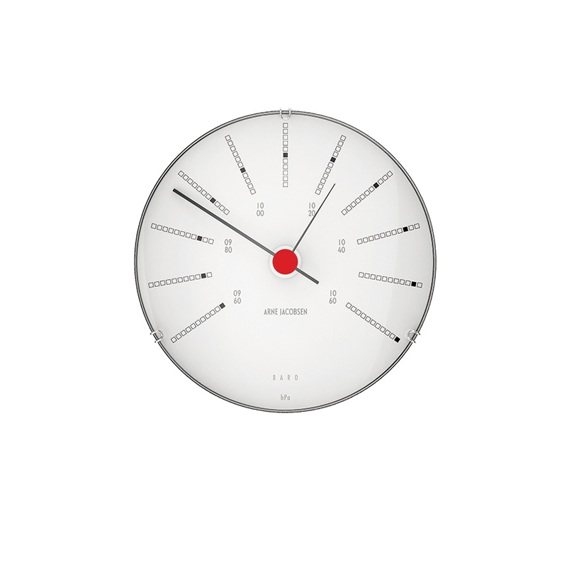 Image of   Arne Jacobsen Bankers Barometer, ø 12 cm